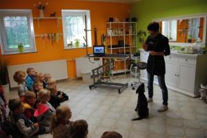 Psi fryzjer Wrocław - spotkanie z dziećmi - Minka