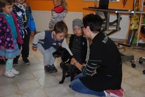 Psi Fryzjer Wrocław - spotkanie z dziećmi